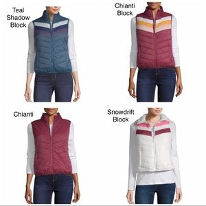 New Arizona Jean Puffer Vests In dif Colors & Szs